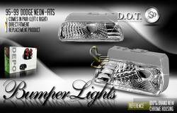 Custom - Euro Diamond Bumper Lights