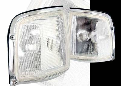 Custom - Euro Clear Corner Lights