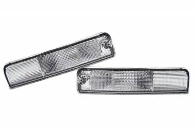 Custom - Clear Front Signal Lights