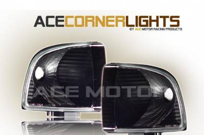 Custom - JDM Black Corner Lights