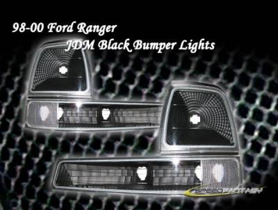 Custom - Euro Black Signal Lights