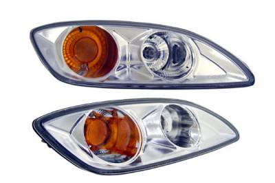 Custom - JDM Clear Chrome Bumper Lights