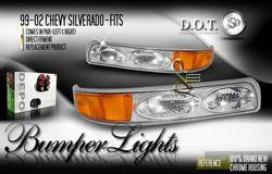 Custom - JDM Clear Bumper Lights