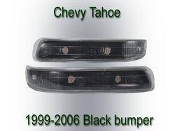 Custom - Black Bumper Lights
