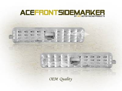 Custom - Euro Clear Side Marker Lights