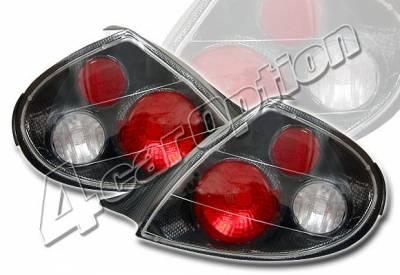 4 Car Option - Dodge Neon 4 Car Option Altezza Taillights - Carbon Fiber Style - LT-DN00F-YD