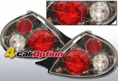 4 Car Option - Dodge Neon 4 Car Option Altezza Taillights - Gunmetal - LT-DN00G-YD