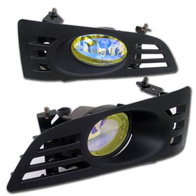 Custom - Yellow Euro Fog Lights