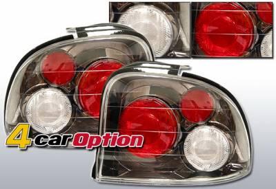 4 Car Option - Dodge Neon 4 Car Option Altezza Taillights - Gunmetal - LT-DN954G-YD