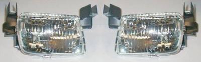 Custom - Crystal Clear Fog Lights