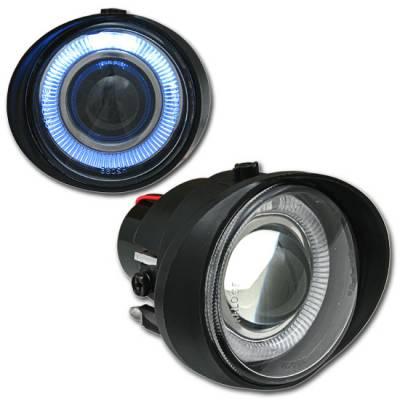 Custom - Black Halo Fog Lights