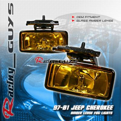 Custom - Amber Fog Lights