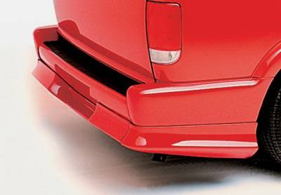 Wings West - Chevrolet Blazer Wings West Custom Style Rear Roll Pan - 890017