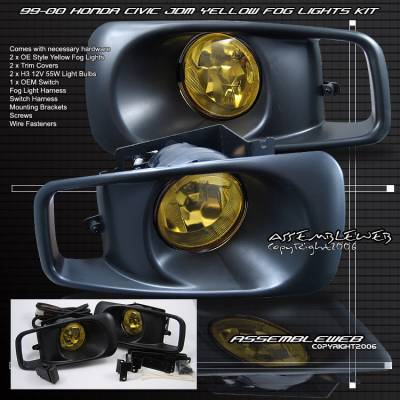 Custom - Yellow OEM Style Fog Lights