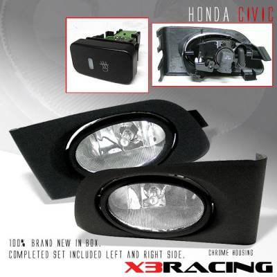 Custom - Clear Lens Fog Lights
