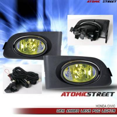 Custom - Ion Yellow  Fog Lights