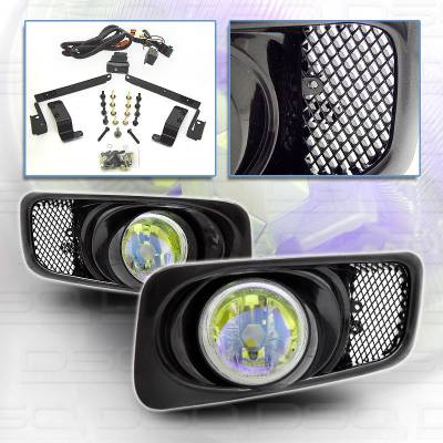 Custom - Yellow Ion Fog Lights