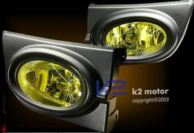 Custom - Yellow Fog Lights