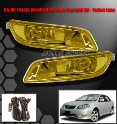 Custom - JDM Yellow Fog Lights