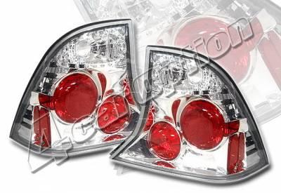 4 Car Option - Ford Focus 4DR 4 Car Option Altezza Taillights - Chrome - LT-FF004A-YD