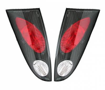 4 Car Option - Ford Focus 4 Car Option Altezza Taillights - Black - LT-FF005JB-YD