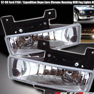 Custom - Clear Fog Lights