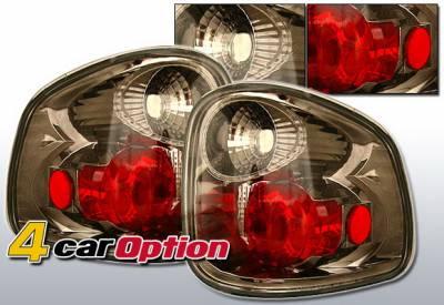 4 Car Option - Ford F150 4 Car Option Altezza Taillights - Gunmetal - LT-FF97FG-YD