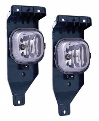 Custom - Clear Fog Lights