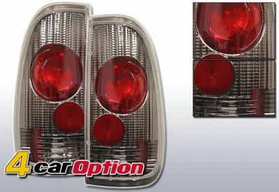 4 Car Option - Ford F150 4 Car Option Altezza Taillights - Gunmetal - LT-FF97SG-YD