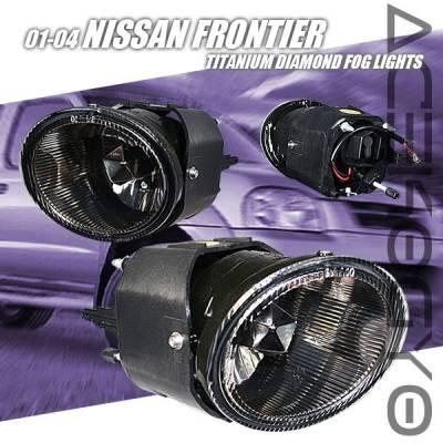 Custom - Titanium Diamond Fog Lights