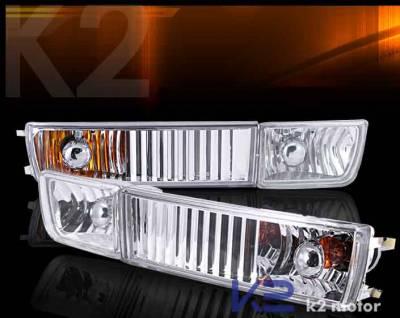 Custom - VW Crystal Bumper Fog Lights