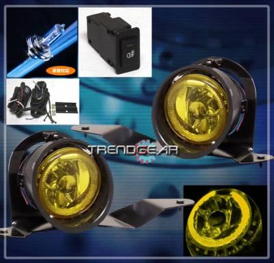 Custom - Yellow LED Fog Lights