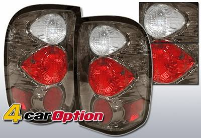4 Car Option - Ford Ranger 4 Car Option Altezza Taillights - Gunmetal - LT-FR93G-YD