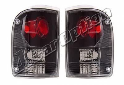 4 Car Option - Ford Ranger 4 Car Option Altezza Taillights - Black - LT-FR93JB-KS