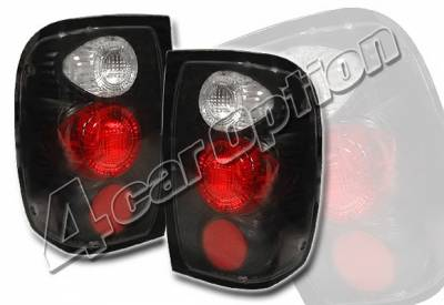 4 Car Option - Ford Ranger 4 Car Option Altezza Taillights - Black - LT-FR93JB-YD