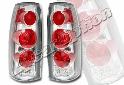 4 Car Option - GMC C10 4 Car Option Altezza Taillights - V2 - Chrome - LT-GC88A2-KS