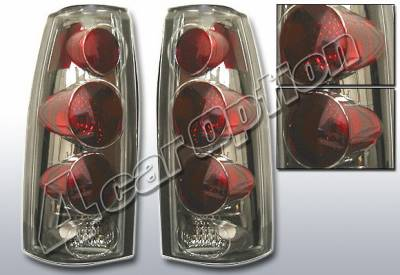 4 Car Option - GMC C10 4 Car Option Altezza Taillights - V2 - Smoke - LT-GC88G2-KS