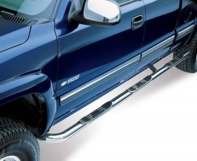Westin - GMC Sierra Westin Platinum Series Step Bars - 24-4030