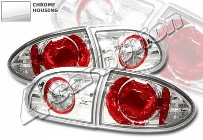4 Car Option - Chevrolet Cavalier 4 Car Option Altezza Taillights - Chrome - LT-GCA95A-YD