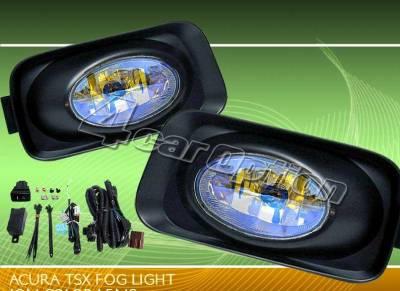 Custom - Yellow Ion Lens Fog Lights