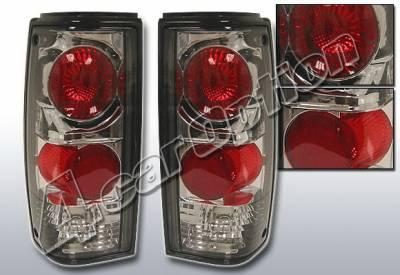 4 Car Option - Chevrolet S10 4 Car Option Altezza Taillights - Smoke - LT-GS82B1-KS