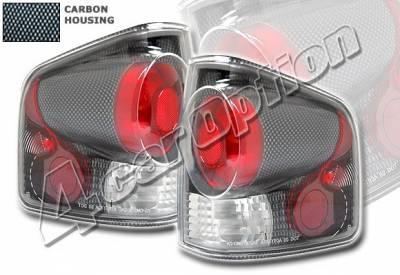 4 Car Option - Chevrolet S10 4 Car Option Altezza Taillights - Carbon Fiber Style - LT-GS94F-KS