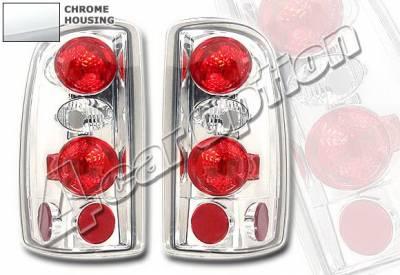 4 Car Option - Chevrolet Tahoe 4 Car Option Altezza Taillights - Chrome - LT-GST02A-KS