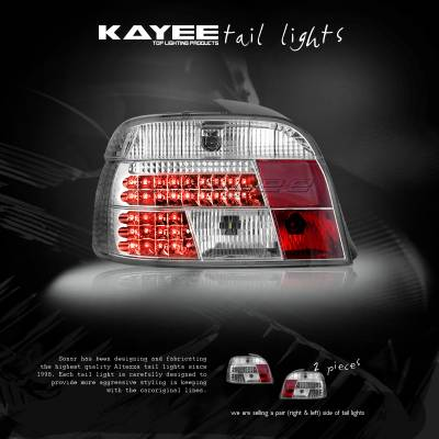 Custom - Chrome LED Tail Lights