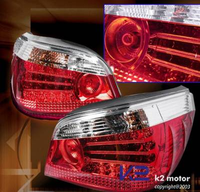Custom - Clear  LED Tail Lights