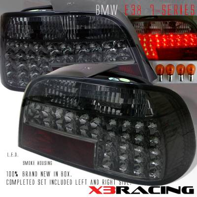 Custom - Black Smoked LED Tail Lights