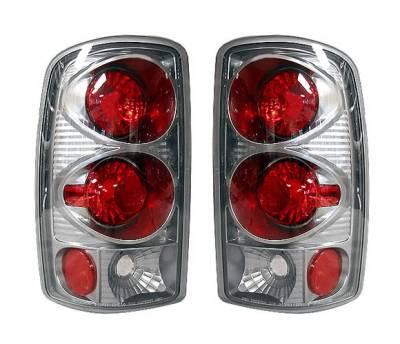 4 Car Option - GMC Yukon 4 Car Option Altezza Taillights - Titanium - LT-GYD01AD-YD