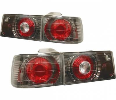 4 Car Option - Honda Accord 4 Car Option Altezza Taillights - V2 - Gunmetal - LT-HA90G2-YD