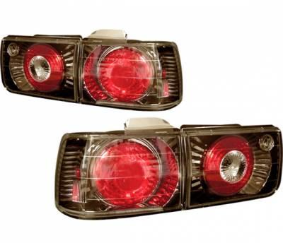 4 Car Option - Honda Accord 4 Car Option Altezza Taillights - V2 - Gunmetal - LT-HA92G2-YD