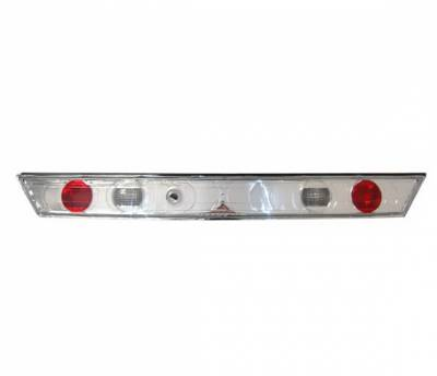 4 Car Option - Honda Accord 2DR 4 Car Option Altezza Taillights - Chrome - Center - LT-HA982AT-YD
